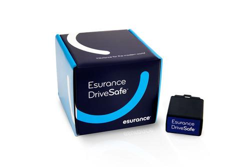 Esurance DriveSafe packaging. (PRNewsFoto/Esurance) (PRNewsFoto/ESURANCE)