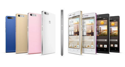 HUAWEI Ascend G6 4G.  (PRNewsFoto/Huawei Consumer Business Group)