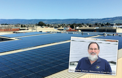Watsonville Coast Produce and The Solar Company Unveil 739.2kW Solar Power System