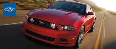 The 2014 Ford Mustang is among the available outgoing models now being offered at Holiday Ford in Fond du Lac, Wis. (PRNewsFoto/Holiday Ford)
