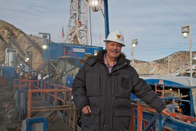 "Sid Jansma (pictured), CEO of the Wolverine Gas and Oil Corporation, played a hunch on a non-producing oil lease in Utah for $160,000 that turned into a 10-billion-dollar petroleum jackpot known as the Covenant Oil Field, the largest onshore oil discovery in the U.S. in 30 years.  Jansma's story is featured in BURN: An Energy Journal's ""The Hunt for Oil""    to be broadcast April 20-22 on more than 300 public radio stations nationwide.  (PRNewsFoto/The Busby Group)"
