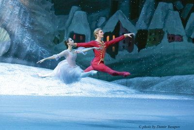 Daria Khokhlova and Artemy Belyakov, ballet solo performers of the State Academic Bolshoi Theater of Russia, one of the world's most renowned ballet companies, are returning to Silversea for an exclusive engagement aboard Silver Spirit's August 31, 2016 Mediterranean cruise, sailing from Athens to Monte Carlo.