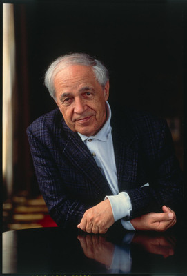 Boulez wins the BBVA Foundation Frontiers of Knowledge Award for the influence of his compositions and his engagement with musical thought and musical transmission.  (PRNewsFoto/BBVA Foundation, Henry Fair)