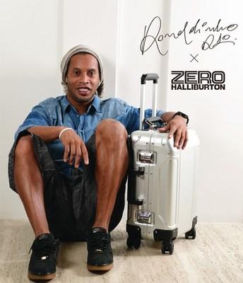 ZERO HALLIBURTON proudly introduces Ronaldinho as our new Brand Ambassador!