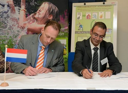 Applied CleanTech & Smurfit Kappa sign agreement to extract recyclables from paper sewage (PRNewsFoto/Applied ...