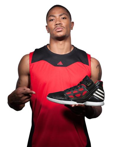 MVP Derrick Rose's adiZero Rose 2 Signature Basketball Shoe Featured in New adidas Global Campaign.  ...