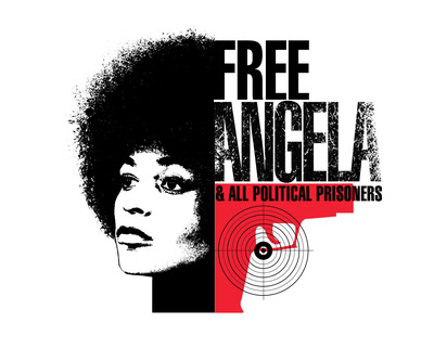FREE ANGELA tells the dramatic story of how a young professor's social justice activism implicates her in a botched kidnapping attempt of a judge, which ends with a bloody shootout, four dead.  For the 40th anniversary of her acquittal on charges of murder, kidnapping, and conspiracy, Angela Davis and all the main characters recount the politics and actions that branded her as a terrorist and simultaneously spurred a worldwide movement for her freedom as a political prisoner.  (PRNewsFoto/Codeblack Films)