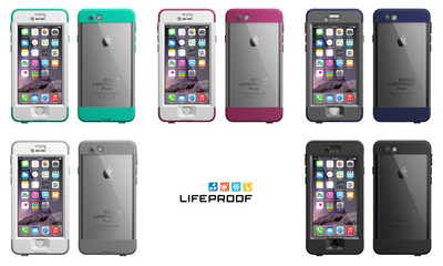 LifeProof nuud waterproof iPhone 6 cases available now on www.lifeproof.com.