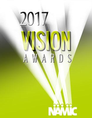 2017 NAMIC Vision Awards Logo
