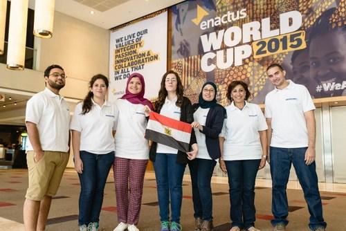 Enactus World Cup 2015: Team Egypt (PRNewsFoto/Enactus) (PRNewsFoto/Enactus)