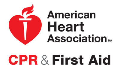American Heart Association CPR & First Aid Logo (PRNewsFoto/American Heart Association)
