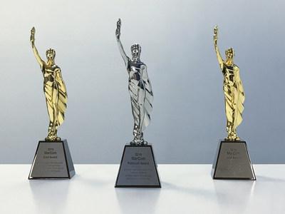 Simpson Healthcare Executives' MarCom Awards Platinum and Gold Trophies