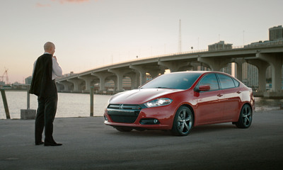 Dodge Dart and Pitbull - Break Through and Succeed.  (PRNewsFoto/Chrysler Group LLC)