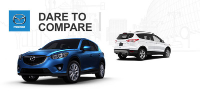 How will the 2014 Mazda CX-5 hold up against the 2014 Ford Escape?  (PRNewsFoto/Ingram Park Mazda)