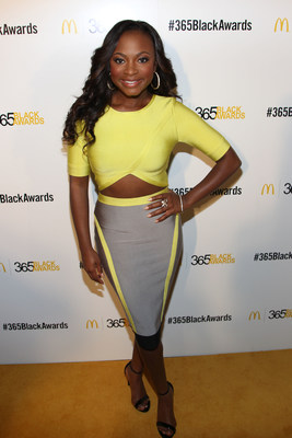 NEW ORLEANS - (July 5, 2014) – Actress Naturi Naughton walked the golden carpet before participating in the McDonald's 365Black Award ceremony. The 11th annual program, held at the New Orleans Theater, took place on July 5. McDonald's 365Black Awards are given annually to salute outstanding individuals who are committed to making positive contributions that strengthen the African-American community.