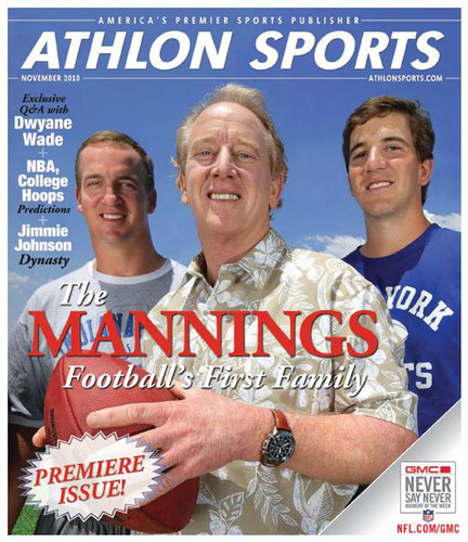 Athlon Sports Launches as Largest Sports Magazine in the U.S. With 7MM Circulation
