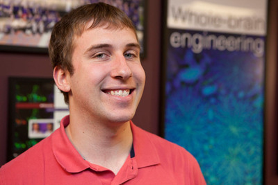 Scott Kellert, student of the McCormick School of Engineering at Northwestern University.