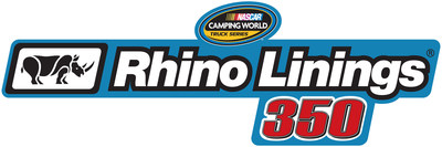 Rhino Linings Corporation Sponsors NASCAR Camping World Truck Race at Las Vegas Motor Speedway (PRNewsFoto/Rhino Linings Corporation)