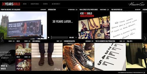 30yearsbold.com. (PRNewsFoto/Kenneth Cole Productions, Inc.) (PRNewsFoto/KENNETH COLE PRODUCTIONS, INC.)