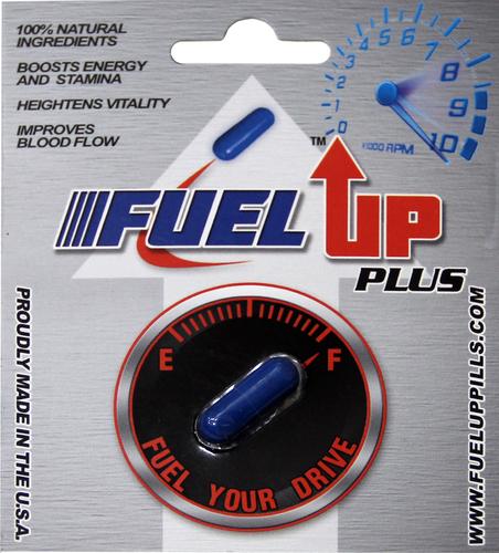 Fuel Up Plus product label. (PRNewsFoto/Fuel Up)