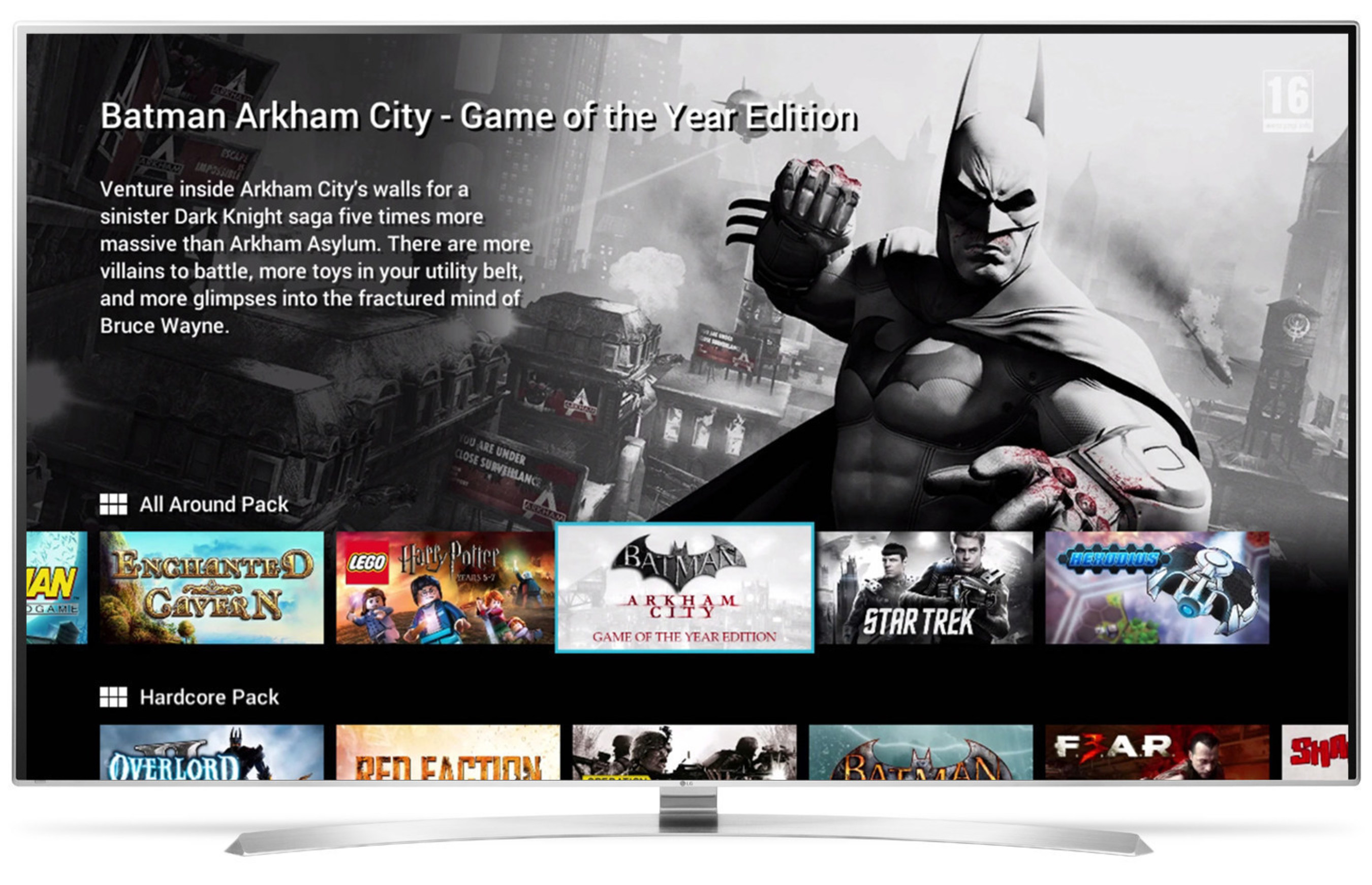 LG Electronics USA today announced the addition of GameFly - the leading console game subscription service - to LG's webOS-enabled Smart TVs. The GameFly Streaming App will launch in late April and will enable U.S. consumers to access GameFly's premium console gaming content on LG OLED and LCD/LED TVs featuring LG's simple and fast webOS Smart TV platform.