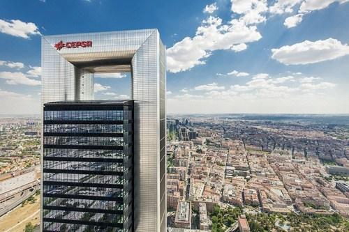 Cepsa Tower, the company's new corporate headquarters (PRNewsFoto/CEPSA) (PRNewsFoto/CEPSA)