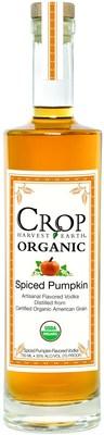 Crop Organic Spiced Pumpkin Vodka (PRNewsFoto/Crop Organic Vodka)