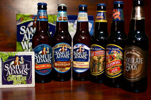 Just in time for holiday gifting and entertaining, Samuel Adams and San Francisco-based chocolate maker TCHO ...