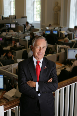 Bloomberg: New York City Mayor Michael R. Bloomberg is named the inaugural Genesis Prize Laureate.(PRNewsFoto/Genesis Prize)