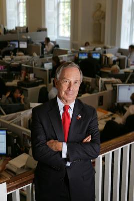 Bloomberg: New York City Mayor Michael R. Bloomberg is named the inaugural Genesis Prize Laureate.(PRNewsFoto/Genesis Prize)
