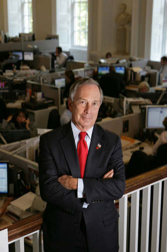 Bloomberg: New York City Mayor Michael R. Bloomberg is named the inaugural Genesis Prize Laureate.(PRNewsFoto/Genesis Prize) (PRNewsFoto/GENESIS PRIZE)