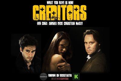 Creditors Poster; Ben Cura, Andrea Deck, Christian McKay. (PRNewsFoto/Tough Dance Ltd)