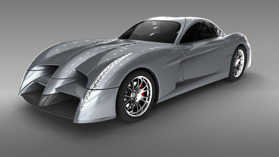 Panoz Abruzzi unveiled at Le Mans. (PRNewsFoto/Panoz Motor Sports Group)