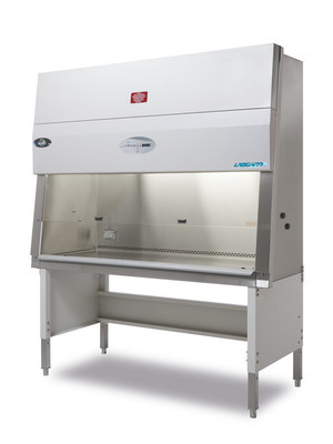 The LabGard AIR model NU-543 is a Class II, Type A2 Biological Safety Cabinet that offers personnel, product, and environmental protection.