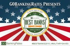 GOBankingRates Releases Study of the 10 Best Military Banks and Credit Unions