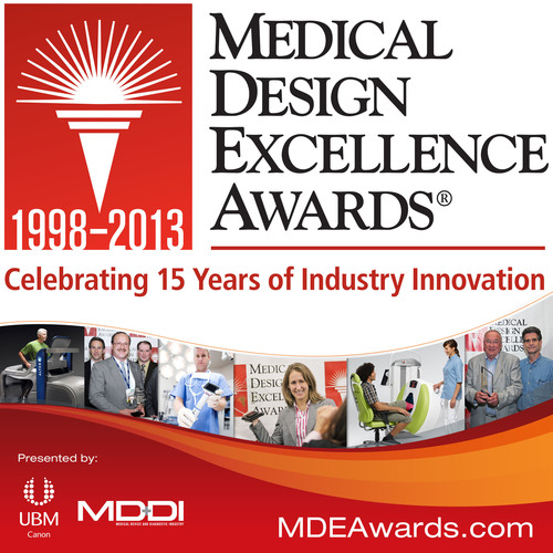 15th Annual Medical Design Excellence Awards (MDEA), the MedTech Industry's Premier Design Competition.  (PRNewsFoto/UBM Canon)