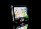 The latest generation of Navman Wireless' M-Nav messaging/navigation device enables fleet managers to communicate with drivers on the road, route them to the next job with no manual intervention, and gather critical data to help optimize operations. With commercial-grade construction for heavy use and truck-specific features such as routing that considers bridge height and road weight restrictions, the device helps save fuel, increase fleet productivity, reduce costs and improve driver safety.  (PRNewsFoto/Navman Wireless)
