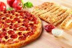 Marco's Double Delicious Deal: a large Pepperoni Magnifico pizza and Cheezybread. Now available for a limited time at participating Marco's locations.