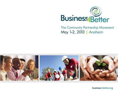 Business4Better Invites Nonprofits to Apply for Free Expo Space at May 2012 Event.  (PRNewsFoto/Business4Better)