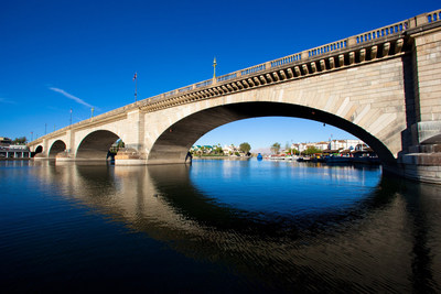 Lake Havasu City says historic London Bridge is definitely not falling down. (PRNewsFoto/Lake Havasu City CVB)