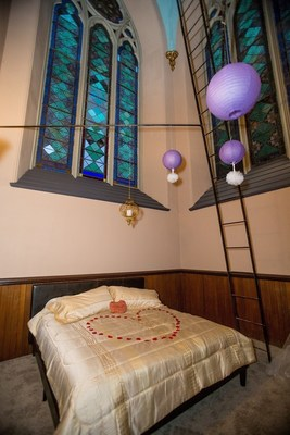 Tower Honeymoon Suite in Maine's Tallest Building, Agora Grand Event Center, Lewiston, Maine