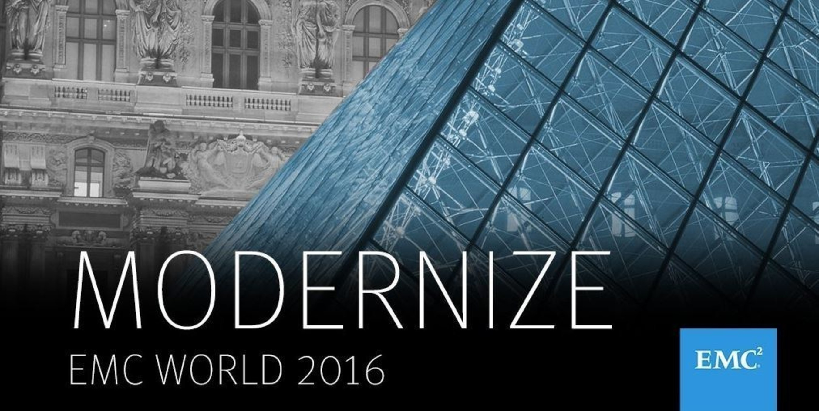 EMC World Day 1 - EMC Launches Wave of New Technology to Modernize Data Centers