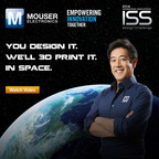 Mouser and Grant are teaming up for the I.S.S. Design Challenge, part of the Empowering Innovation Together(TM) program. This new challenge calls for designs that will help I.S.S. astronauts, with the winning design 3D-printed aboard the I.S.S.