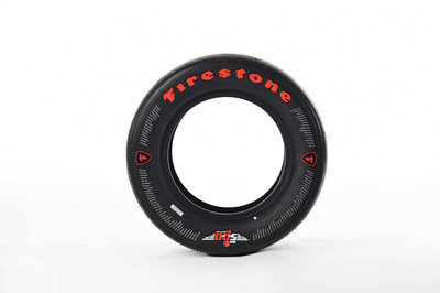 Special 100th running Indianapolis 500 Firestone race tire