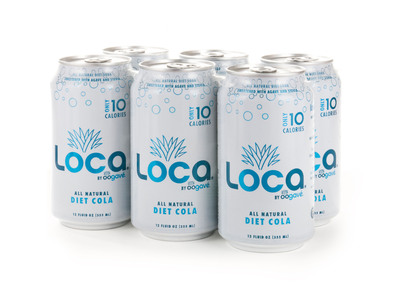 LOCA by Oogave new cola offering.  (PRNewsFoto/Oogave)