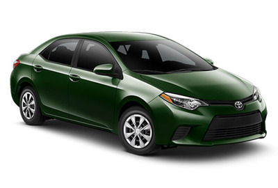 The new redesign of the 2014 Toyota Corolla reflects several decades of evolution and development of the world's most popular nameplate.  (PRNewsFoto/Toyota of Naperville)