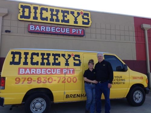 Dickey's Barbecue Pit Opens in Brenham, Texas. (PRNewsFoto/Dickey's Barbecue)