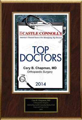Dr. Cary Chapman is recognized among Castle Connolly's Top Doctors for New York, NY region in 2014.