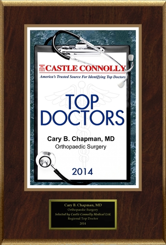 Dr. Cary Chapman is recognized among Castle Connolly's Top Doctors for New York, NY region in 2014. (PRNewsFoto/American Registry)