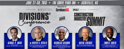 Nationally-known speakers to address Carolinas' construction industry.